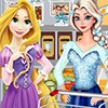 Elsa and Rapunzel Shopping